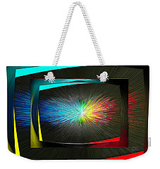 Color Tv Weekender Tote Bag