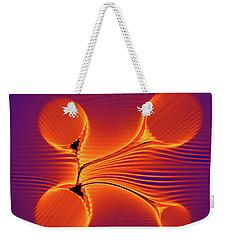 Color Twist Weekender Tote Bag