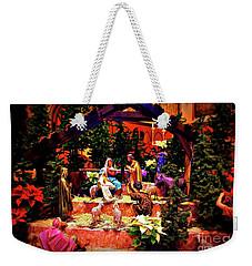 Color Vibe Nativity - Border Weekender Tote Bag
