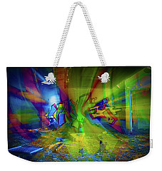 Color Wave Weekender Tote Bag