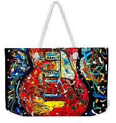 Color Wheel Guitar Weekender Tote Bag