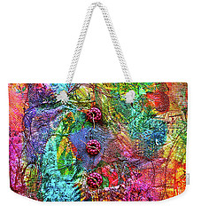 Color With Buttons Weekender Tote Bag