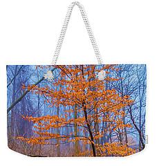 Color Within Fog Weekender Tote Bag