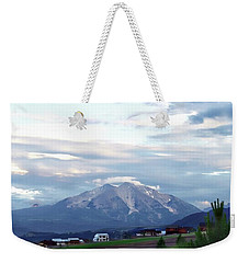 Weekender Tote Bag featuring the photograph Colorado 2006 by Jerry Battle