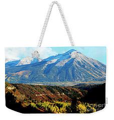 Colorado Autumn 2016 Raggeds Wilderness  Weekender Tote Bag