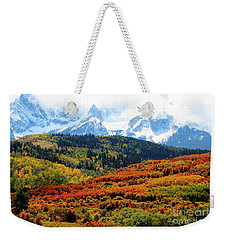 Colorado Autumn 2016 San Juan Mountains  Weekender Tote Bag