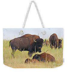 Colorado Buffalo 0096 Weekender Tote Bag