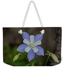 Colorado Columbine Flower Weekender Tote Bag