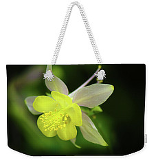 Weekender Tote Bag featuring the photograph Colorado Columbine by Marie Leslie