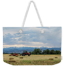 Weekender Tote Bag featuring the photograph Colorado Country by James BO Insogna