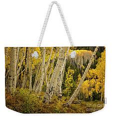 Colorado Fall Aspen Grove Weekender Tote Bag