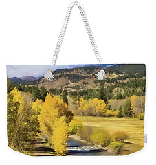 Colorado Fall Mountains Weekender Tote Bag by Steven Parker