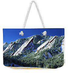 All Fivecolorado Flatirons Weekender Tote Bag by Marilyn Hunt