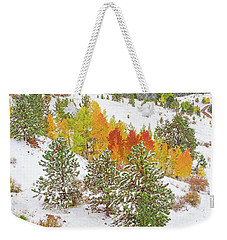 Colorado Is Stunningly Beautiful. Here's One Example Among Countless Others.  Weekender Tote Bag