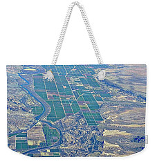 Colorado River Aerial Weekender Tote Bag