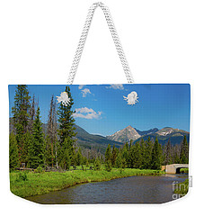 Colorado River And Kawuneeche Valley Weekender Tote Bag