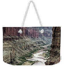 Colorado River And The East Rim Grand Canyon National Park Weekender Tote Bag
