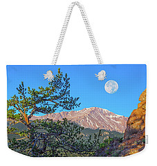 Colorado Rocky Mountain High, Just A Breath Away From Heaven Weekender Tote Bag