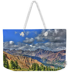 Colorado Rocky Mountains Weekender Tote Bag