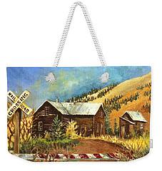 Colorado Shed Weekender Tote Bag