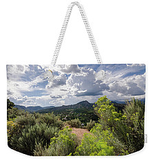 Weekender Tote Bag featuring the photograph Colorado Summer by Margaret Pitcher