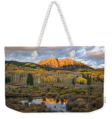 Colorado Sunrise Weekender Tote Bag by Phyllis Peterson