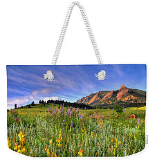 Colorado Wildflowers Weekender Tote Bag by Scott Mahon
