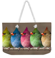 Colored Chicks Weekender Tote Bag