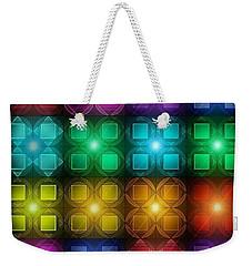 Colored Lights Weekender Tote Bag