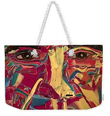 Colored Man Weekender Tote Bag