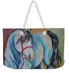 Colored Pony Weekender Tote Bag