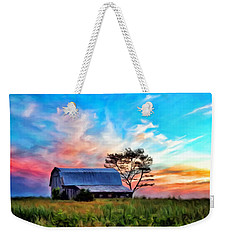 Colored Sunrise Weekender Tote Bag