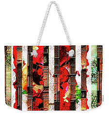 Colored Windows Weekender Tote Bag by Paula Ayers