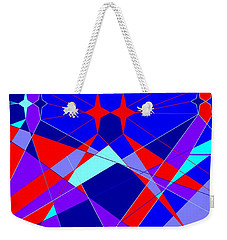 Colorful 1 Weekender Tote Bag by Linda Velasquez