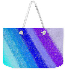Colorful 3 Weekender Tote Bag by Linda Velasquez