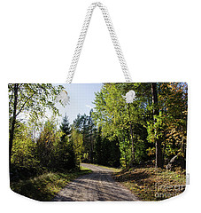 Weekender Tote Bag featuring the photograph Colorful Adventure by Kennerth and Birgitta Kullman