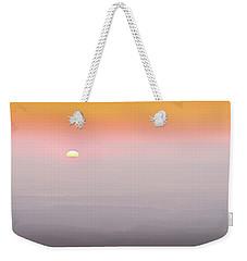 Colorful And Smoky Carolina Sunrise Weekender Tote Bag by Serge Skiba