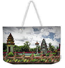 Colorful Architecture Siem Reap Cambodia  Weekender Tote Bag