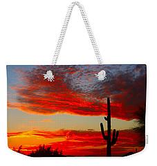 Colorful Arizona Sunset Weekender Tote Bag