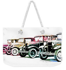 Colorful A's Weekender Tote Bag by Steve McKinzie