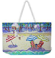 Colorful Beach Hideaway Weekender Tote Bag