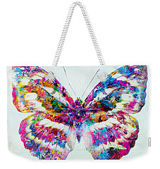 Colorful Butterfly Art Weekender Tote Bag