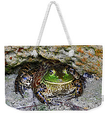 Weekender Tote Bag featuring the photograph Colorful Camo by Al Powell Photography USA