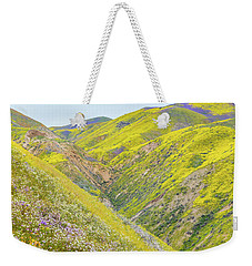 Weekender Tote Bag featuring the photograph Colorful Canyon by Marc Crumpler