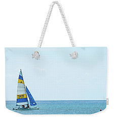 Colorful Catamaran 3 Delray Beach Florida Weekender Tote Bag