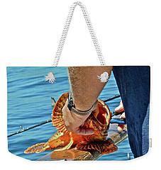 Colorful Catch Weekender Tote Bag