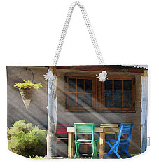 Colorful Chairs Weekender Tote Bag