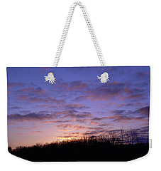 Weekender Tote Bag featuring the photograph Colorful Clouds In The Sky by Kent Lorentzen