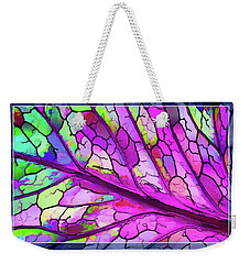 Colorful Coleus Abstract 3 Weekender Tote Bag