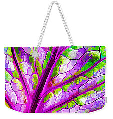 Colorful Coleus Abstract 1 Weekender Tote Bag